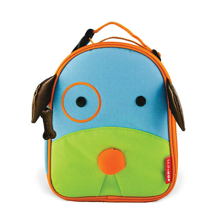 Skip Hop Zoo Dog Lunch Bag | Kids Lunch Bag