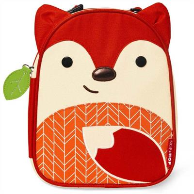 Skip Hop Zoo Lunchies-Kids Lunch Bag-Fox