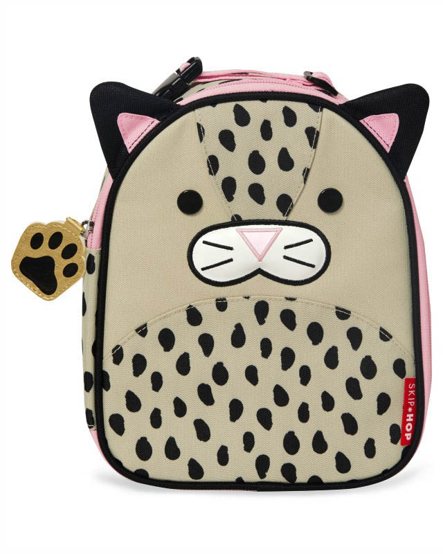 Skip Hop Zoo Leopard Lunch Bag