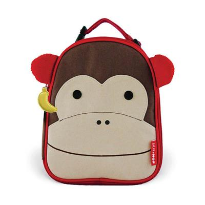 Skip Hop Zoo Lunchies- Kids Lunch Bag- Monkey