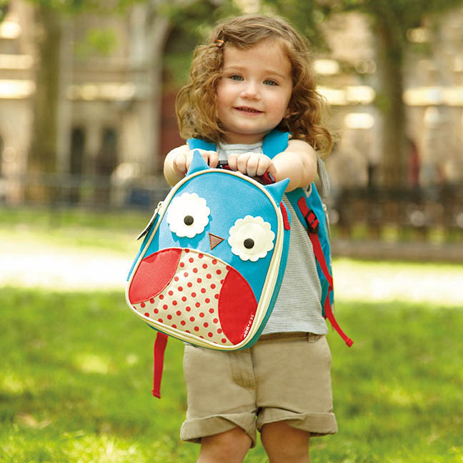 Skip Hop Owl Kids Lunch Bag