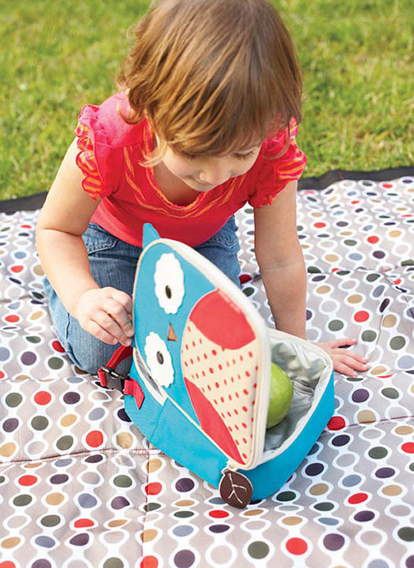 Owl Design School Lunch Box