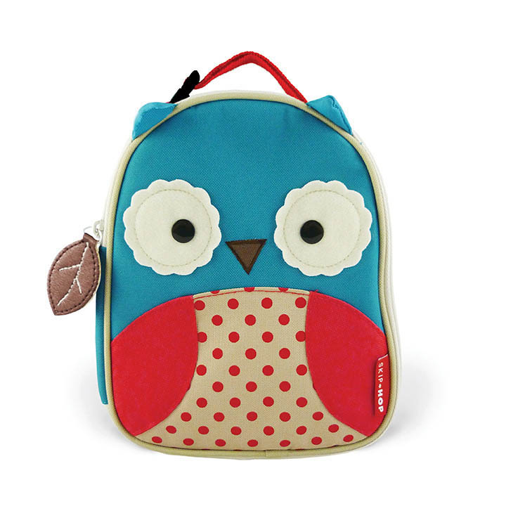 Skip Hop Zoo Lunchies- Kids Lunch Bag- Owl
