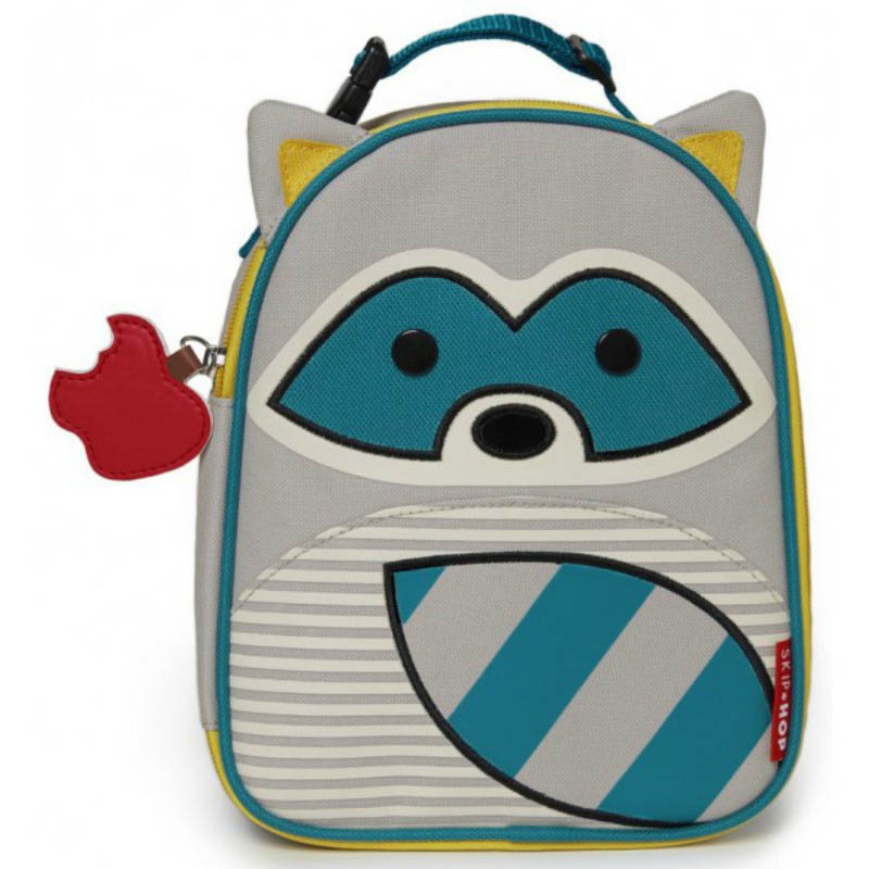 Skip Hop Zoo Lunchies-Kids Lunch Bag-Raccoon