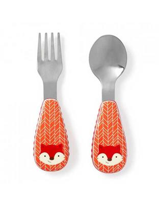 Skip Hop Zoo Fox Cutlery