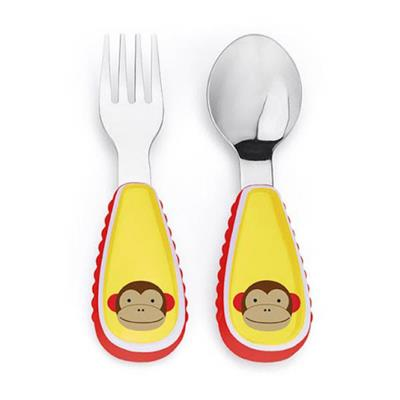 Skip Hop Zoo Monkey Cutlery