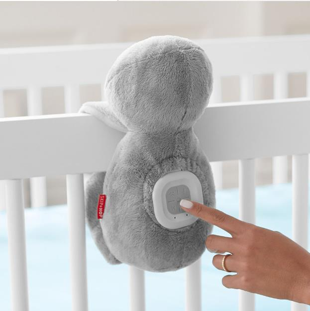 Sloth Cry Activated Soother Soft Toy