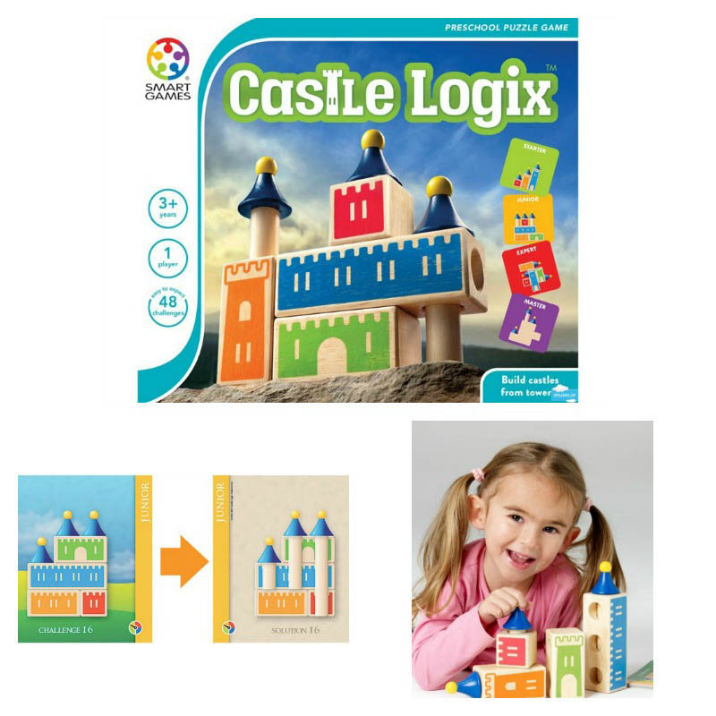 Smart Games - Castle Logix Puzzle Game