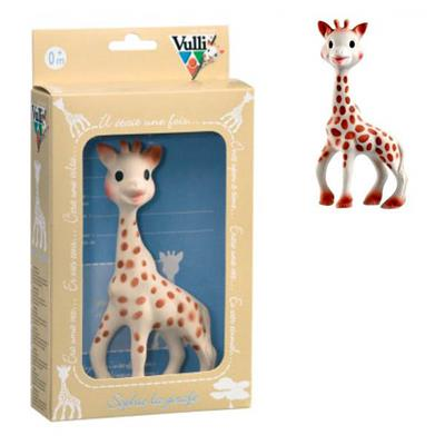 Sophie the Giraffe-100% Natural Rubber Teether- Gift Box