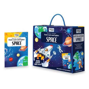 For Space 205pc Puzzle and Book