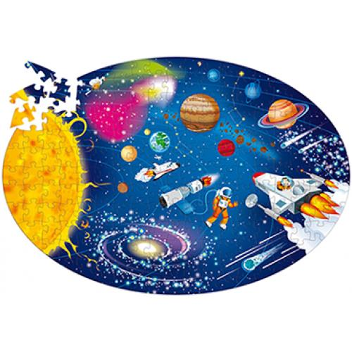 Space 205pc Puzzle and Book
