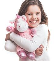Sparkly Unicorn Microwavable Soft Toy