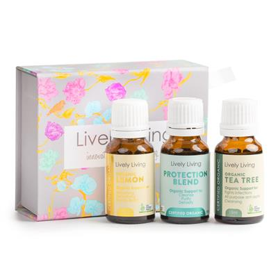 Spring Time Essential Oils Organic Trio