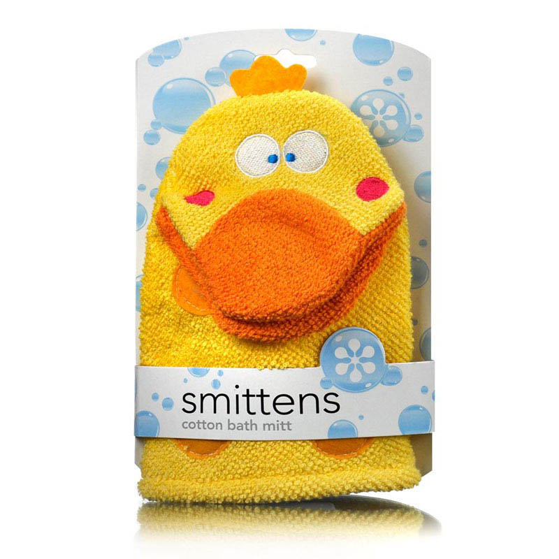 Star and Rose-Kids Bathing Essentials-Bath Mitt {Duck}