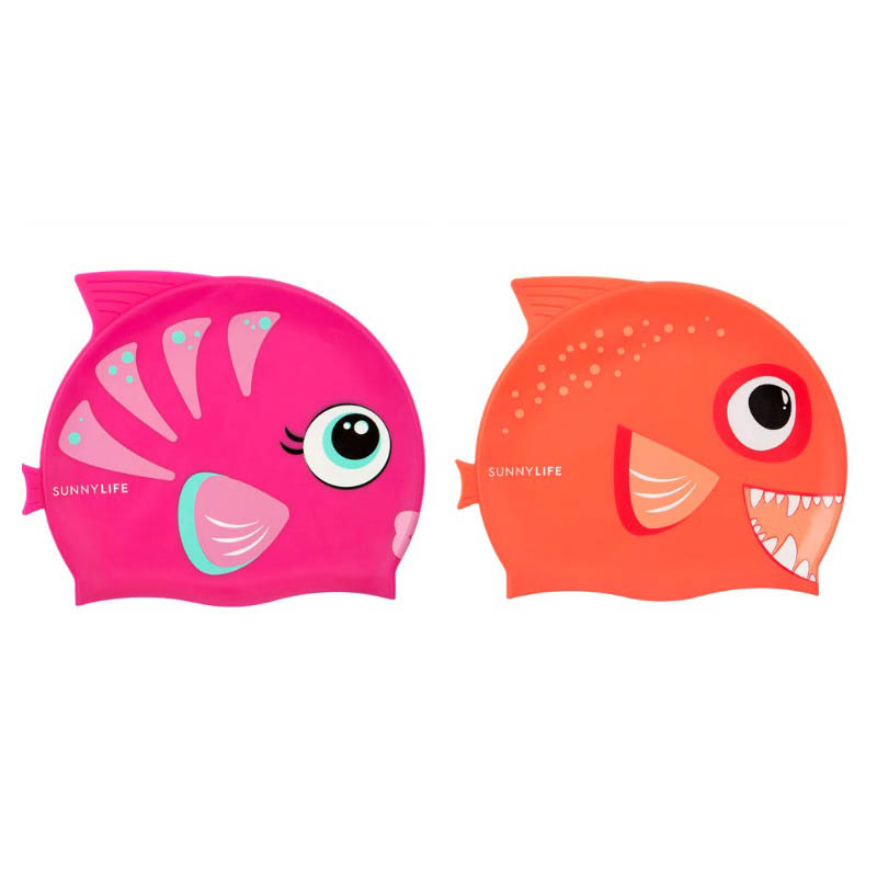 Sunny Life Fishy Swimming Cap
