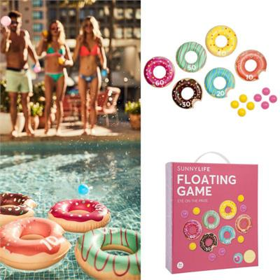 Sunny Life - INFLATABLE FLOATING GAME DONUT