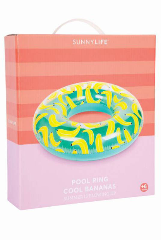 Sunny Life Inflatable Pool Ring Cool Bananas
