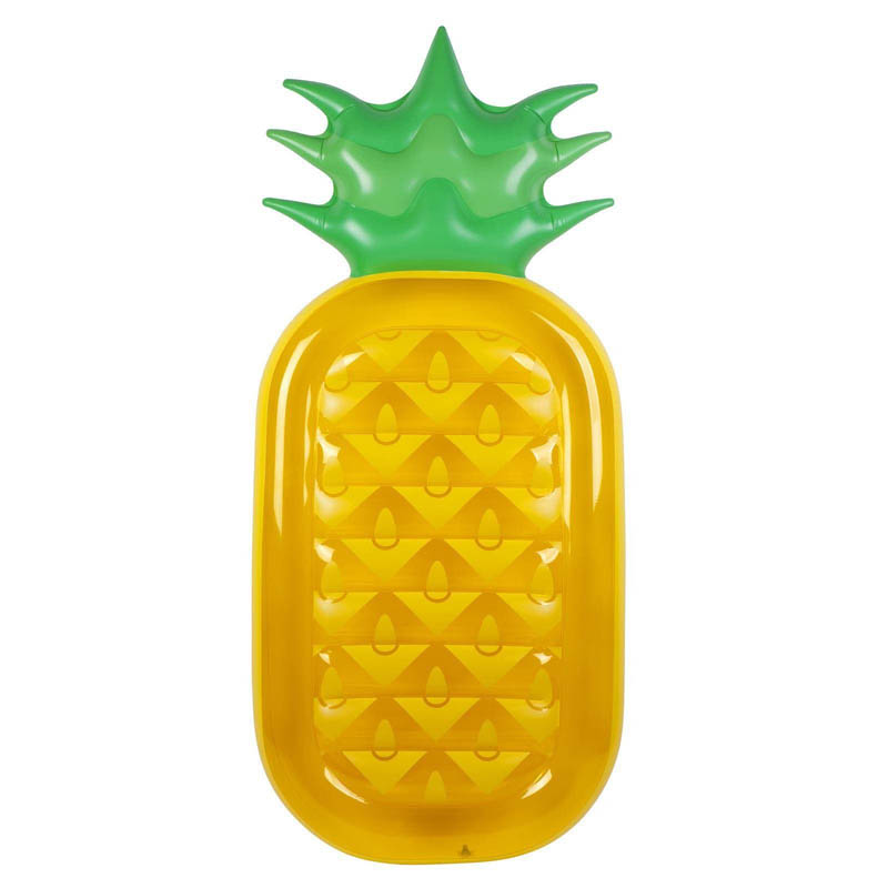 Sunny Life Luxe Inflatable Lie-On Float - Pineapple