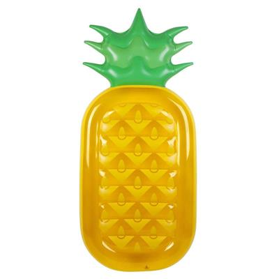 Sunny Life Luxe Inflatable Lie-On Pineapple Float