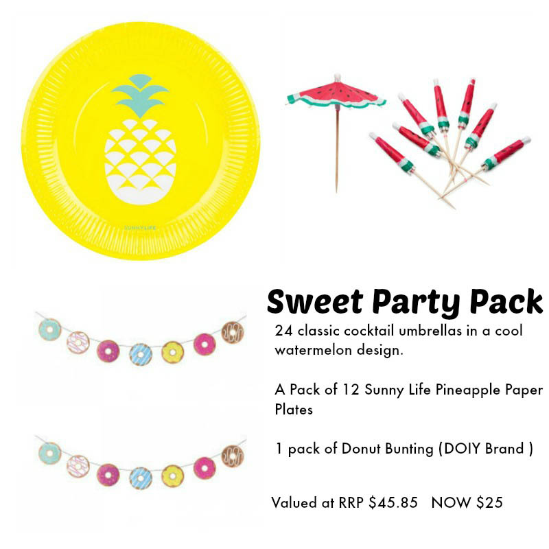 Sunny Life Party Pack - SWEET