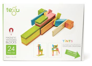 Tegu Magnetic Wooden Blocks 24pcs