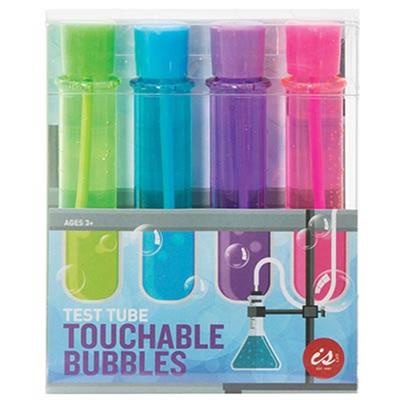 IS Test Tube Touchable Bubbles Set of 4