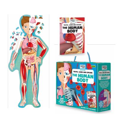 The Human Body 200pc Puzzle and Book