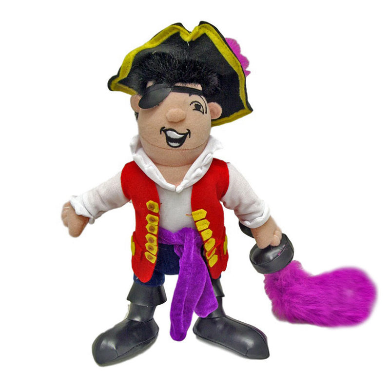 The Wiggles Captain Feathersword Soft Toy
