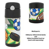 Thermos Funtainer 290ml Insulated Food Jar - Multi Sports