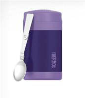 Thermos Funtainer 470ml Insulated Stainless Steel Food Jar-Purple