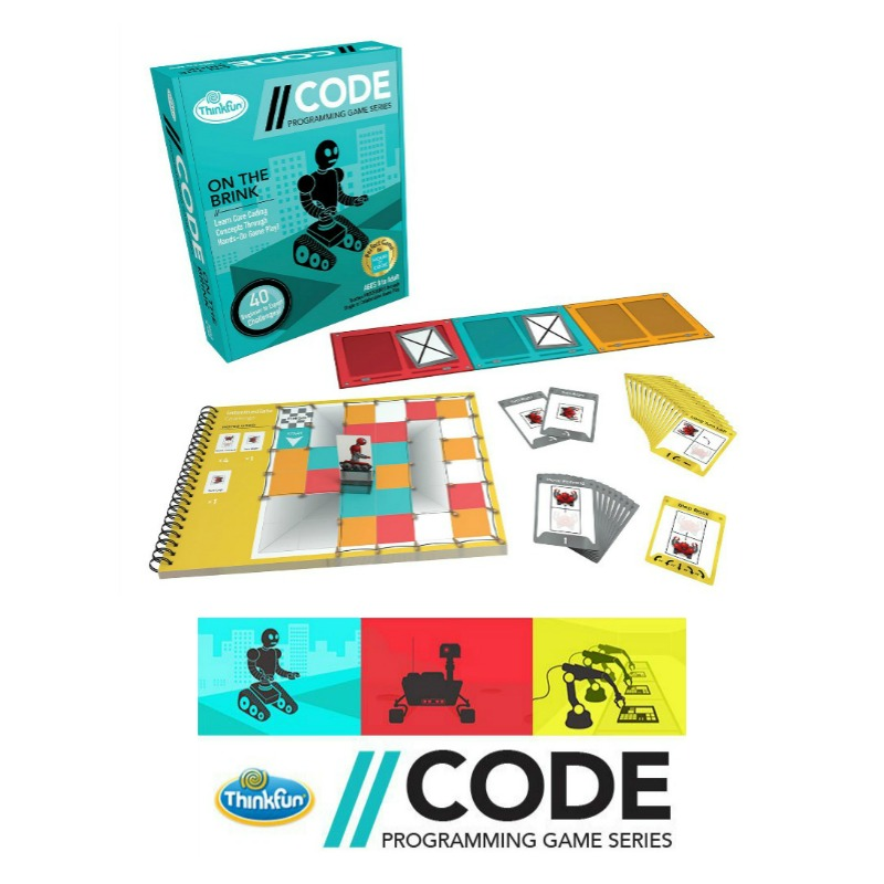 Thinkfun CODE Programming Series On The Brink Game