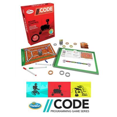 Thinkfun CODE Programming Series Rover Control Game