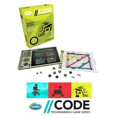 Thinkfun CODE Programming Series Robot Repair Game
