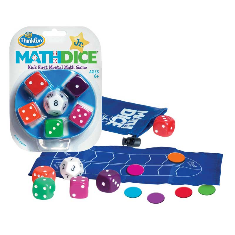 ThinkFun Junior Math Dice