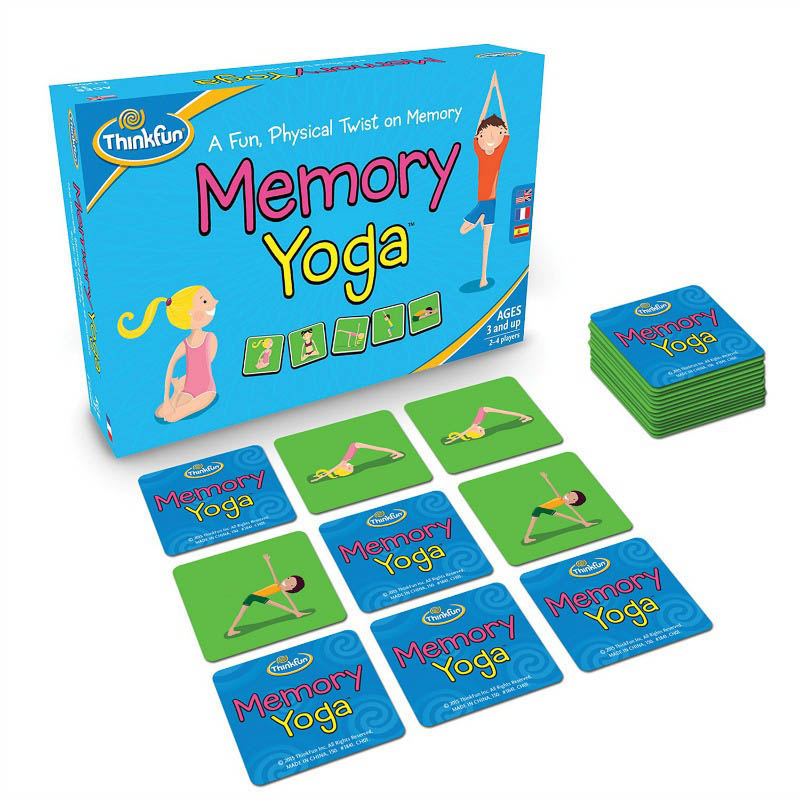 ThinkFun-Yoga Memory Game