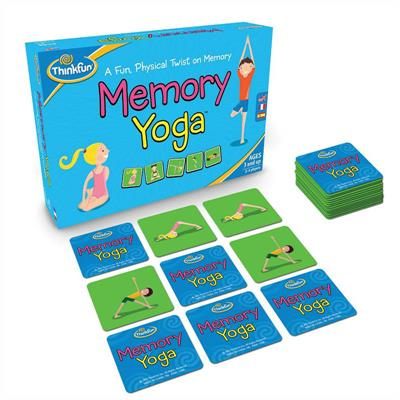 ThinkFun Yoga Memory Game