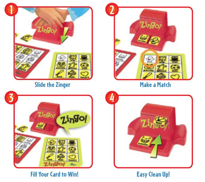 Thinkfun Zingo! Bingo With A Zing Game
