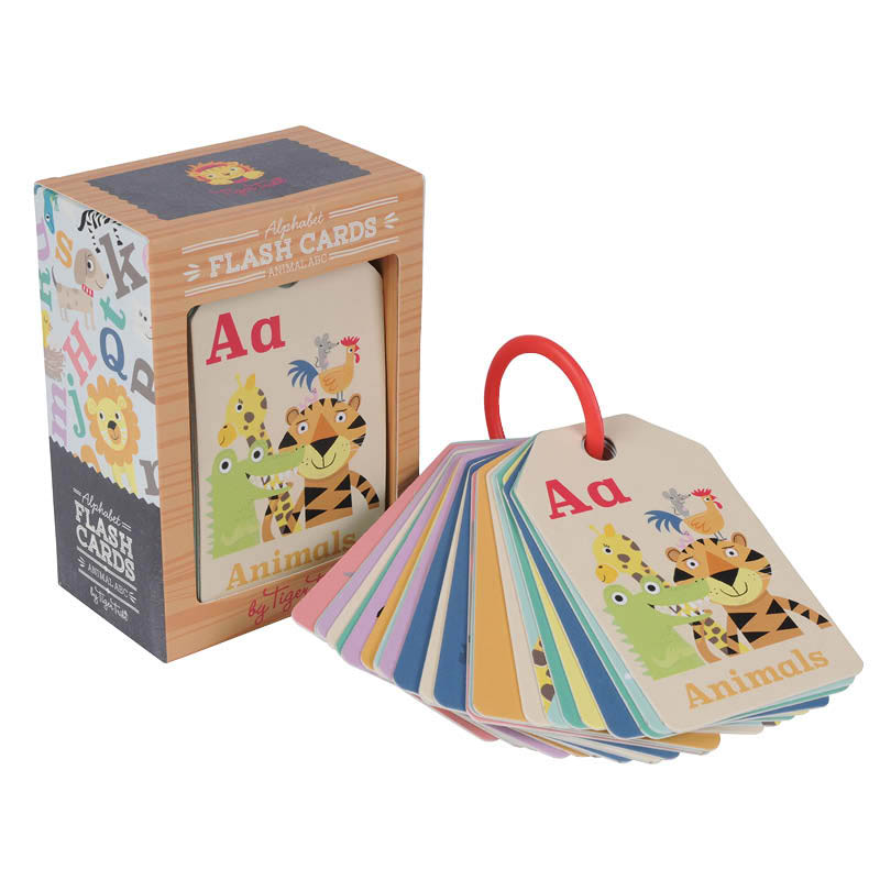 Tiger Tribe ABC Flash Cards Animals