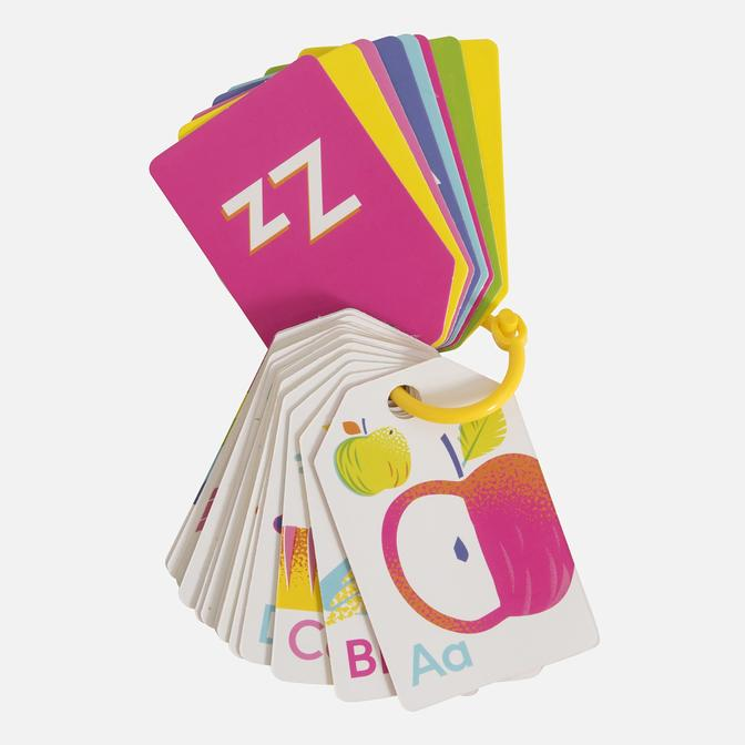 Tiger Tribe Alphabet Flash Cards Neon