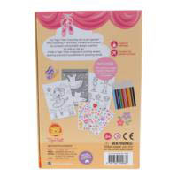 Tiger Tribe Ballet Colouring Set