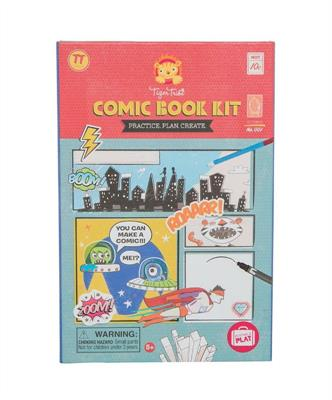 Tiger Tribe Comic Book Kit