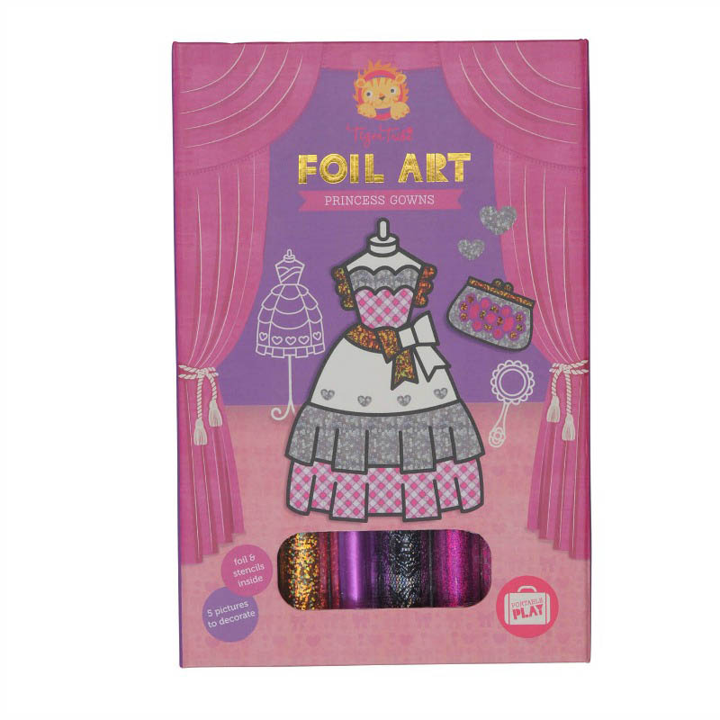Tiger Tribe - Foil Art - Princess Gowns