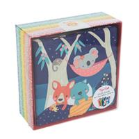 Tiger Tribe Gumtree Buddies Cloth Book