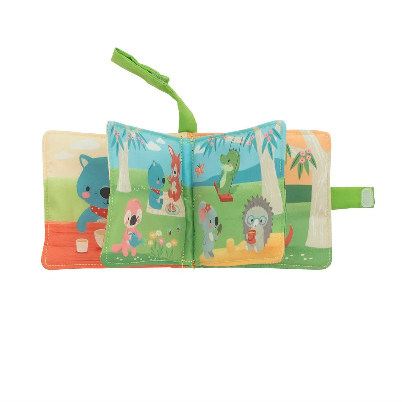 Tiger Tribe Gumtree Buddies Cloth Pram Book