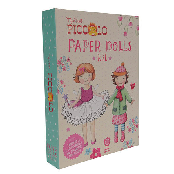 Paper Doll Making Kit-Packaging