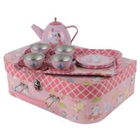 Tiger Tribe Kittens and Puppies Tea Set