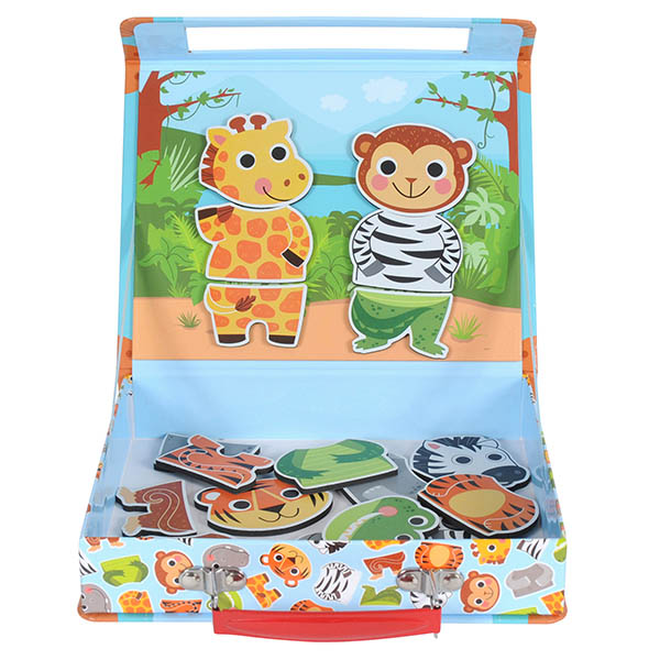 Tiger Tribe-Magnetic Toys- Magna Junior Case {Jungle Safari}