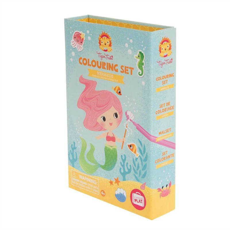 Tiger Tribe - Mermaids Colouring Set