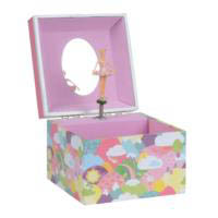 Musical Jewellery Box - Rainbow Small
