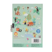Tiger Tribe My Holiday Journal Lockable Diary